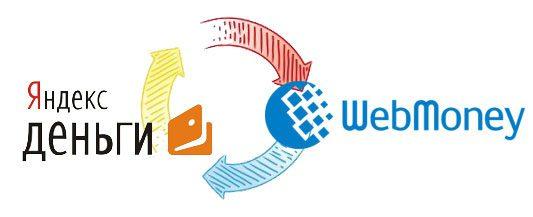 Обмен Webmoney на Яндекс.Деньги