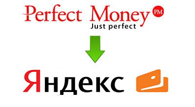 Обмен Perfect Money на Яндекс.Деньги