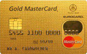 Gold карта MasterCard Сбербанка