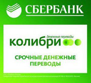 Колибри перевод Сбербанк