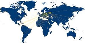 Unistream работает по всему миру