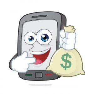 Перевод денег между счетами через телефон