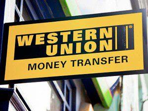 Перевод денег Western Union