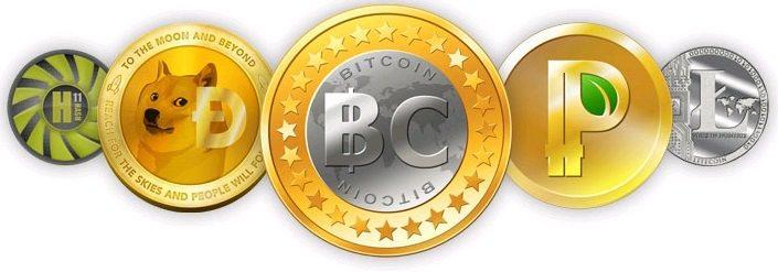 Какие бывают криптовалюты