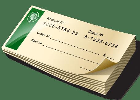 Чековая книжка расчетного счета5c5b47984bdfa