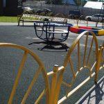 В Лобне вокруг детских площадок установили почти километр новых заборов5c5b4af1ae5c3