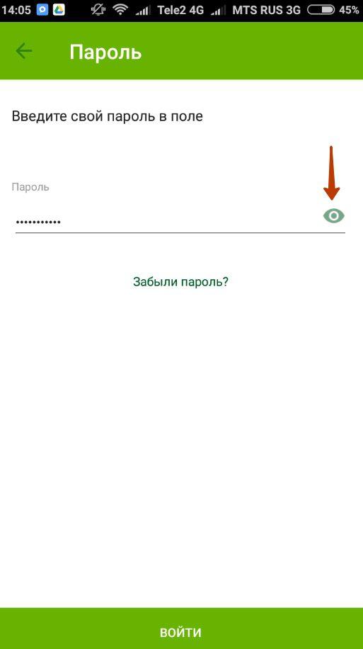 Ввод пароля5c5b52050da6e