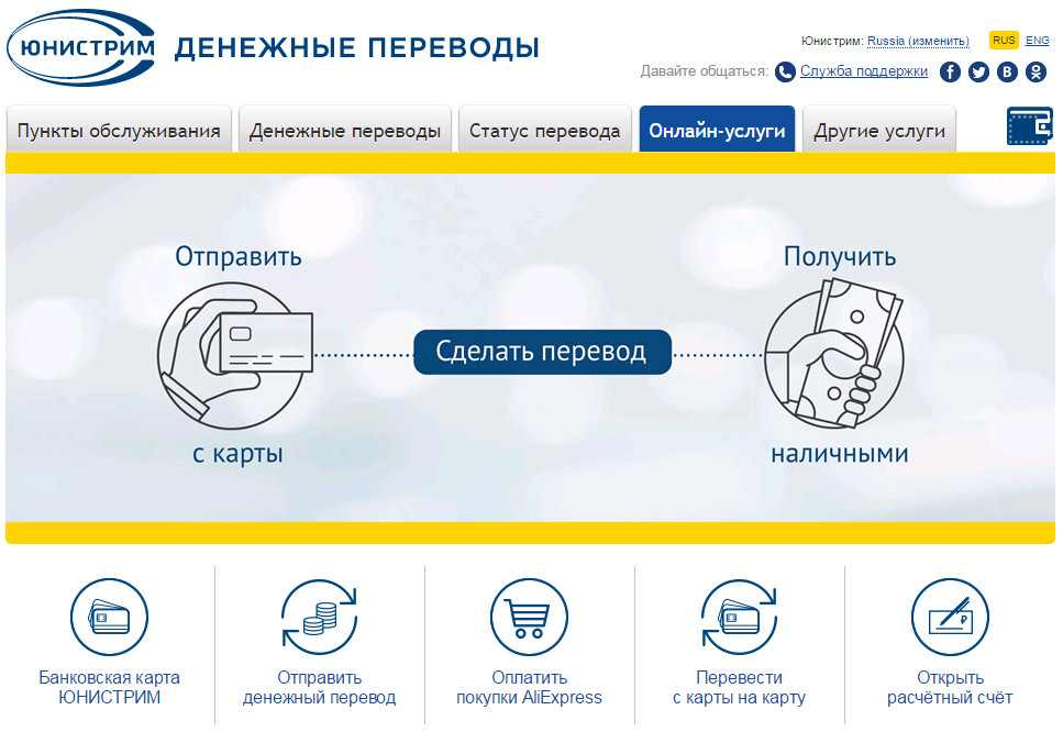 Онлайн перевод в Узбекистан Юнистрим5c5b579cee945