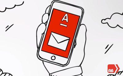 Мобильный банк Альфа-Мобайл позволяет получать сообщения об операциях по карте привязанной к вашему номеру телефона5c5b58fb9bcca