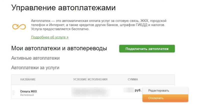 Как отменить кредит в сбербанке онлайн