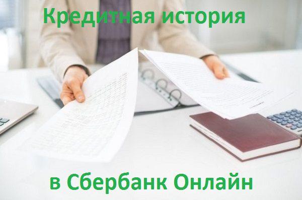 кредитная история в сбербанк онлайн5c5b5aff4db06