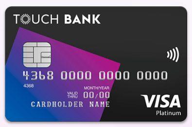 Внешний вид карты Limited Touch Bank5c5b5fdc0883d