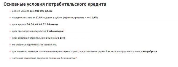 Общие условия потребительского кредита от ЮниКредит банка5c5ac0eed34e4