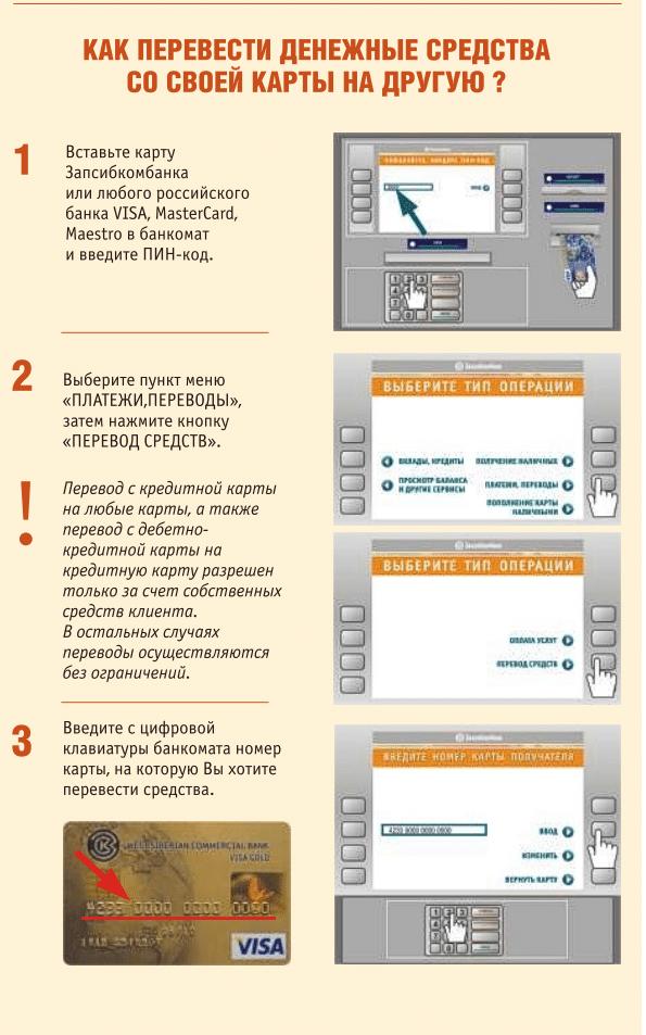 Как перевести деньги с карты на карту Запсибкомбанка5c5ad53f15f9c
