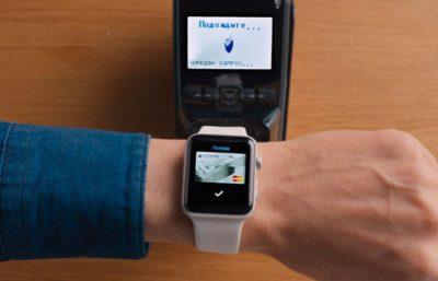 Синхронизация данных ваших устройств Apple позволит совершать покупку по системе Apple Pay с помощью умных часов5c5b183f87b8c