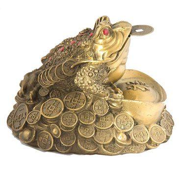 Золотая жаба талисман Фен Шуй5c5b193320a99