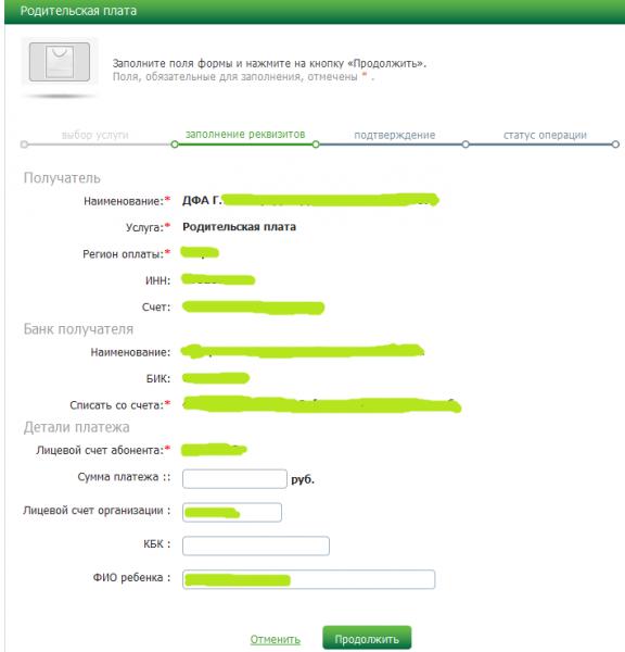 Заполнение данных для оплаты5c5b1ace5ae20