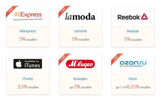 В список партнеров Яндекс Деньги входят наиболее популярные магазины5c5b21f2079d7