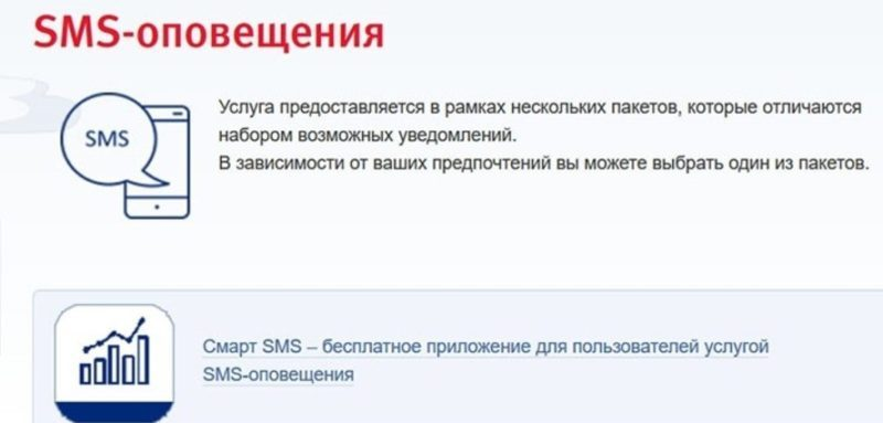 При подключении СМС оповещения, можно настроить график поступления уведомлений5c5b27f4a1a9e