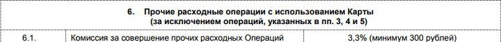 Комиссия за стягивание с карты Пятерочка от Почта-Банка5c5b28c5981c3