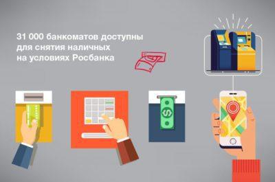Выберите один из банкоматов Росбанка или банков-партнеров, чтобы снять деньги с карты без комиссии. Сбербанк такой возможности не предоставляет.5c5b296871b9a