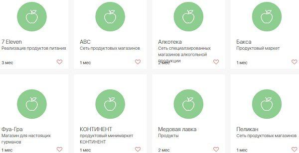 Продуктовые магазины-партнеры карты Халва Совкомбанка5c5b30f5b9b13