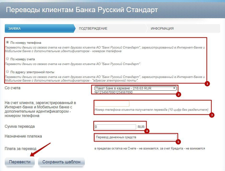 русский стандарт оставить заявку на кредитную карту пополнить баланс теле2 с банковской карты сбербанка по смс на номер
