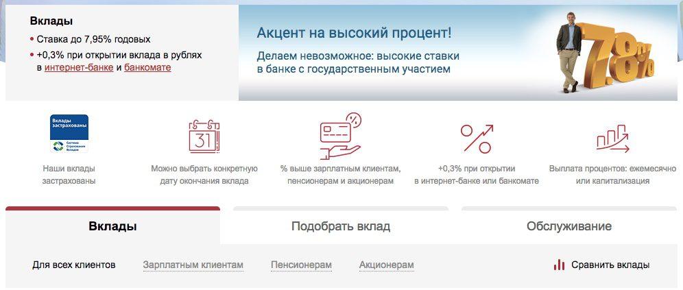 ВТБ Банк Москвы вклады физических лиц 20175c5b330403261