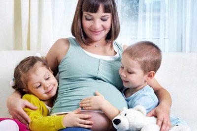 Беременная мать с детьми5c5b352882d4a