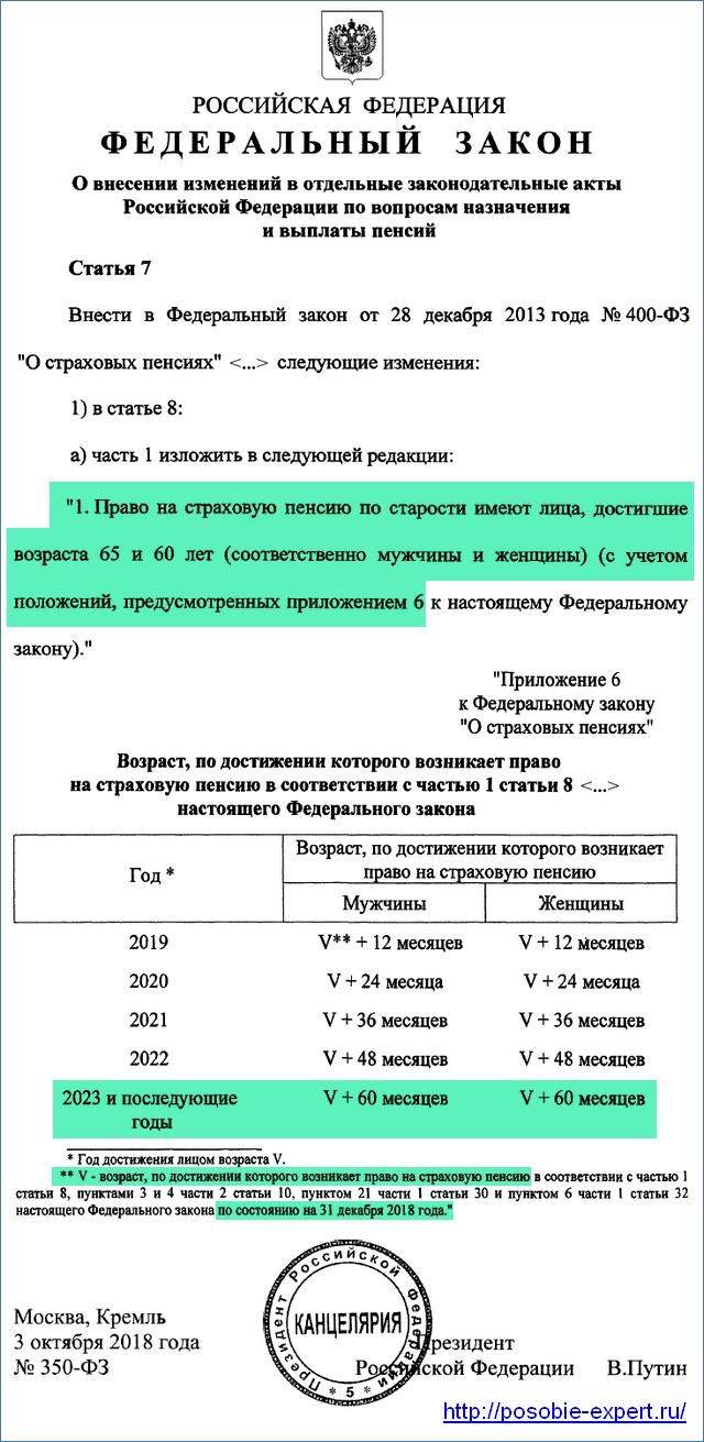 Закон об увеличении пенсионного возраста с 2019 года5c5b37c6e66e1