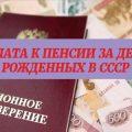 Доплата к пенсии за детей, рожденных до 1990 года5c5b38cc43515