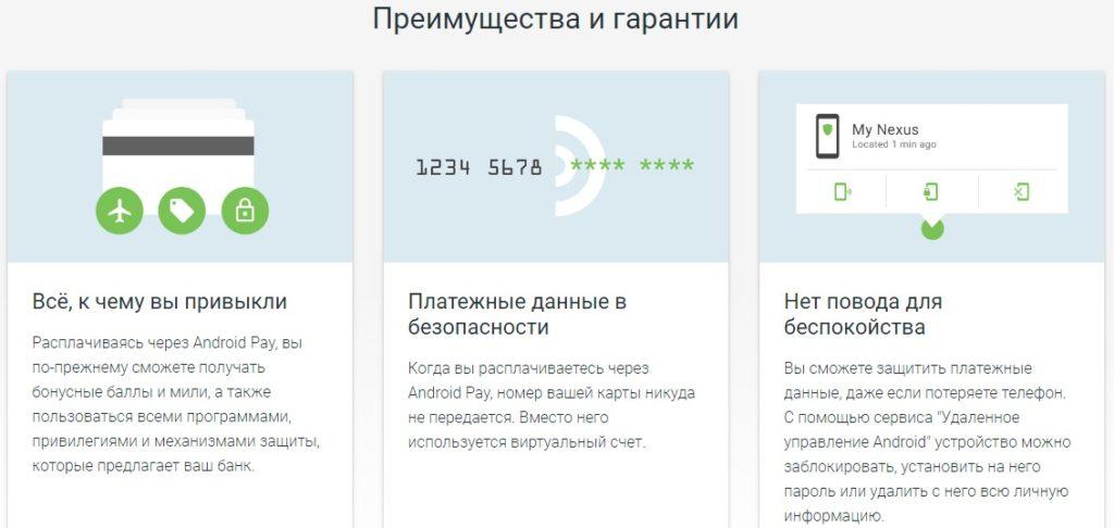 Сообщение от google о безопасности технологии Android Pay5c5d56acab160