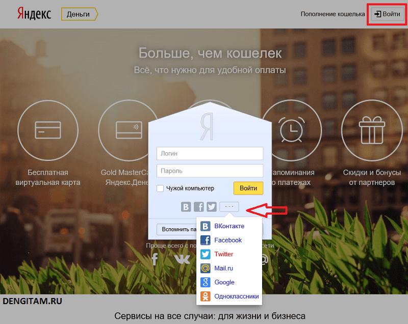 Авторизация Яндекс Деньги5c5d5cc87a54a