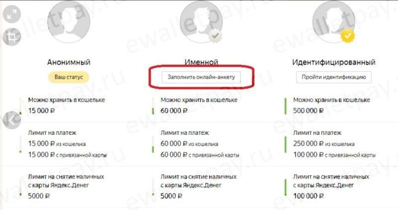 Получение именного кошелька в Яндекс.Деньгах5c5dd23591db8