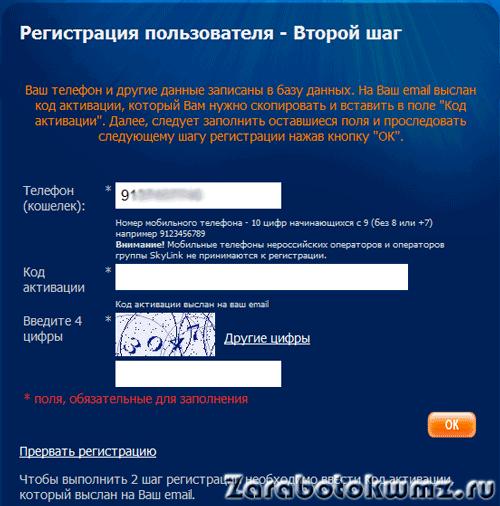 Вводите код активации5c68f543569ae