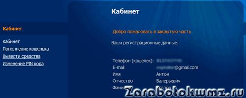 Вы зарегистрированы на сервисе Rapida Online5c799a2d4c6f1