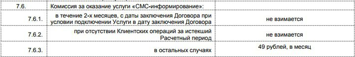 СМС-инфо по карте Пятерочка от Почта-Банка5c7bf6ee872ed