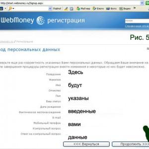 ввод данных из письма, полученного от Webmoney5c621b933eae4