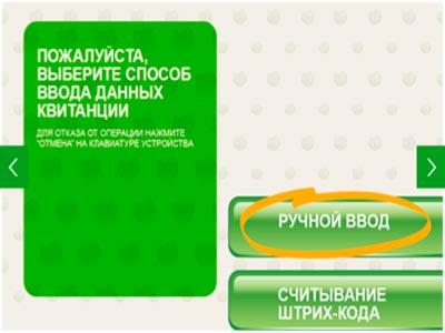 инструкция сбербанка - способ ввода данных5c6222628415d