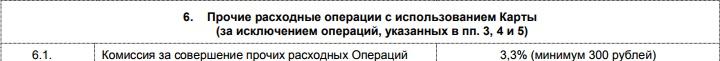 Комиссия за стягивание с карты Пятерочка от Почта-Банка5c6251247e306