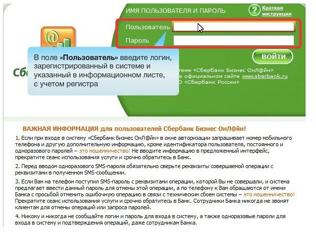 Руководство по авторизации нового пользователя в «Сбербанк Бизнес Онлайн»5c626445670fc