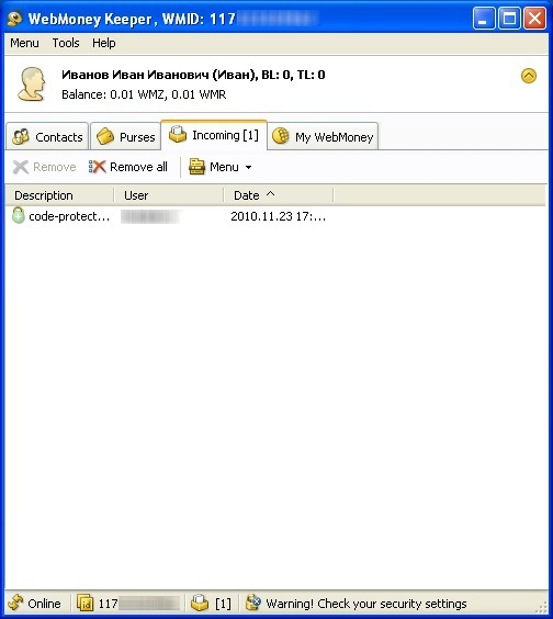 Как создать кошелек WebMoney5c6271d317134