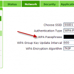 как поменять пароль в роутере5cac7807f2d9b