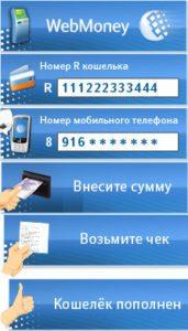 пополнение Вебмани5c629ce537858