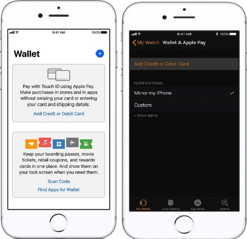 Приложение Wallet на iPhone5c62a813e02da