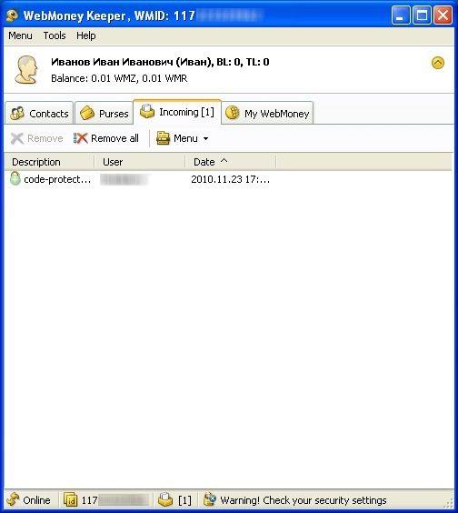 Как создать кошелек WebMoney5c62b6edf1191
