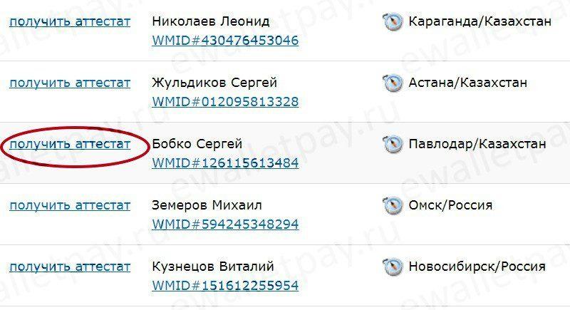 Выбор ближайшего регистратора для оформления персонального аттестата Вебмани5c62c4359332f