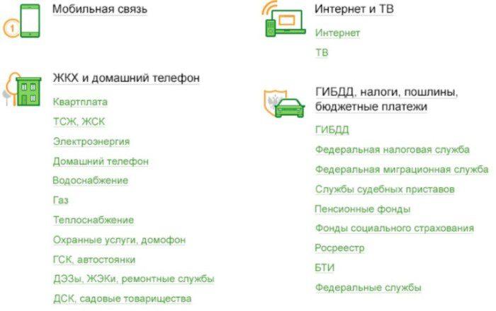 Выбор раздела Интернет и ТВ5c62c5c92c4d8